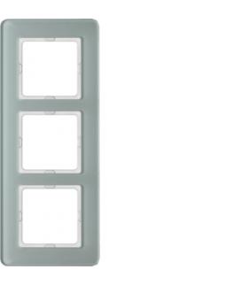 Q.7 Ramka 3-krotna, szkło, biały Berker 10136079