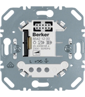one.platform Ściemniacz uniwersalny przyciskowy pojedynczy, mechanizm Berker.Net, zaciski śrubowe Berker 85421200