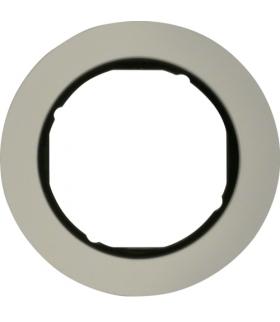 R.classic Ramka 1-krotna, aluminium/czarny Berker 10112084