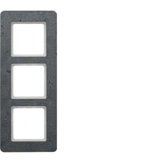 Q.7 Ramka 3-krotna, beton Berker 10136020