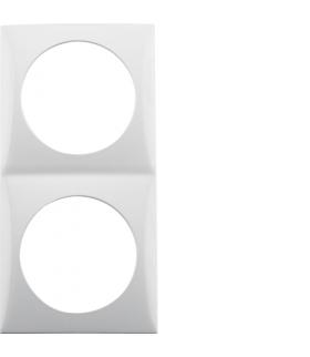 Integro Flow Ramka 2-krotna, biały, połysk Berker 918262519