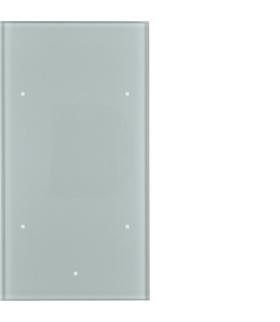 TS Sensor szklany dotykowy 2-krotny, konfigurowalny, szkło, alu Berker 169207