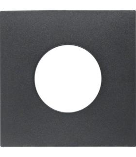 B.x Płytka czołowa do łącznika i sygnalizatora świetlnego E10, antracyt Berker 11241606