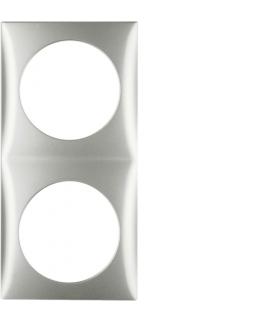 Integro Flow Ramka 2-krotna, chrom, mat lakierowany Berker 918262558