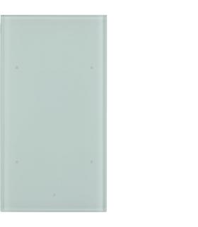 TS Sensor szklany dotykowy 2-krotny, konfigurowalny, szkło, biały Berker 169200