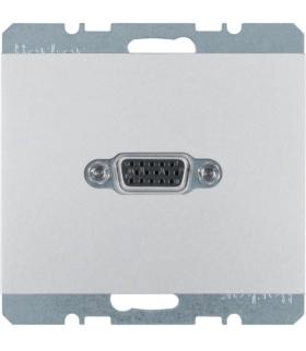 K.5 Gniazdo VGA, alu Berker 3315407003