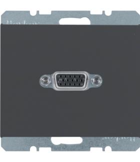 K.1 Gniazdo VGA, antracyt, mat Berker 3315407006