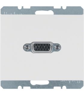 K.1 Gniazdo VGA, biały, połysk Berker 3315407009