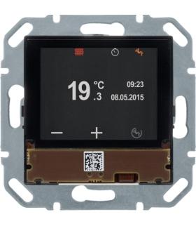 KNX e/s Regulator temperatury z wyświetlaczem i portem magistralnym