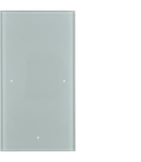 TS Sensor szklany dotykowy 1-krotny, konfigurowalny, szkło, alu Berker 169107