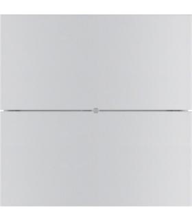 B.IQ Przycisk 2-krotny komfort,  aluminium