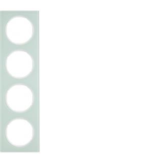 R.3 Ramka 4-krotna, szkło, biały Berker 10142209