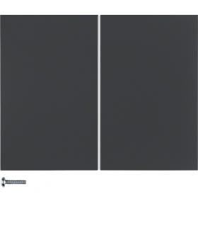 K.1 Przycisk 2-krotny do ściemniaczy przyciskowych i sterowników załączających Berker.Net, antracyt, mat Berker 85142175