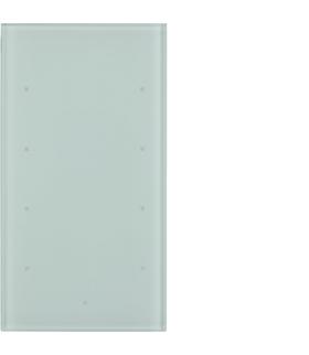 TS Sensor szklany dotykowy 4-krotny, konfigurowalny, szkło, biały Berker 169400