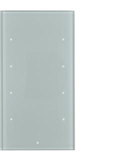 TS Sensor szklany dotykowy 4-krotny, konfigurowalny, szkło, alu Berker 169407