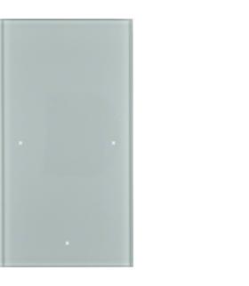 TS Sensor szklany dotykowy 1-krotny, szkło, alu Berker 168107