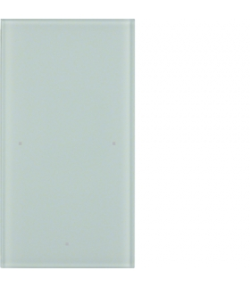 TS Sensor szklany dotykowy 1-krotny, szkło, biały Berker 168100
