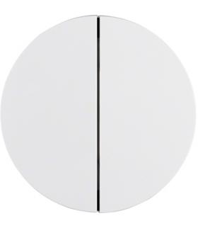 R.X/1930/Glas Przycisk 2-kr biały