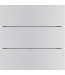 B.IQ Przycisk 3-krotny komfort,  aluminium