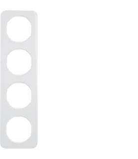 R.1 Ramka 4-krotna, biały, połysk Berker 10142189