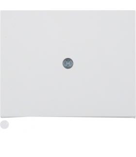 K.1 Płytka czołowa do przyłączy kablowych, biały Berker 10057009