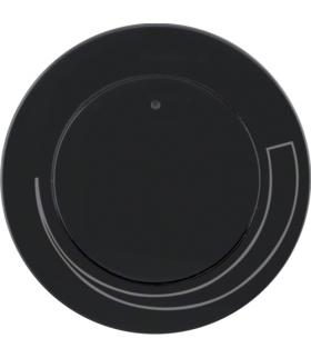 R.1/R.3 Płytka czołowa z pokrętłem do regulatora obrotów, czarny, połysk Berker 11372035