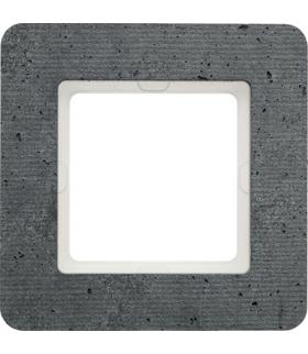 Q.7 Ramka 1-krotna, beton Berker 10116020
