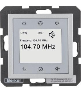 B.x/S.1 Radio Touch, alu mat Berker 28841404
