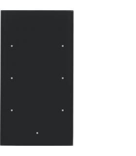 TS Sensor szklany dotykowy 3-krotny, konfigurowalny, szkło, czarny Berker 169305