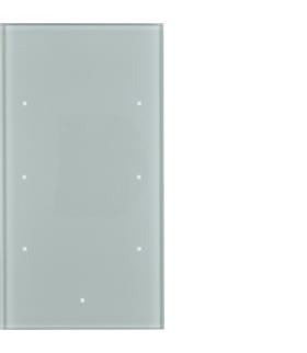 TS Sensor szklany dotykowy 3-krotny, konfigurowalny, szkło, alu Berker 169307