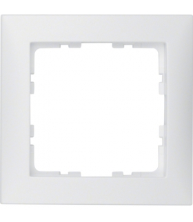 S.1 Ramka 1-krotna, biały, mat Berker 10119909