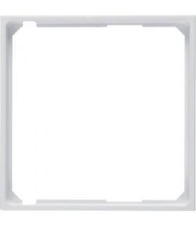 B.x/S.1 Pierścień oddzielający do płytki czołowej, biały, połysk Berker 11098989
