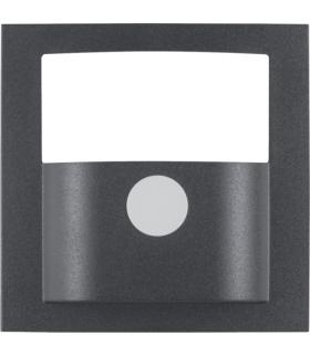 B.x Płytka czołowa do kompaktowego czujnika ruchu, antracyt, mat Berker 11901606