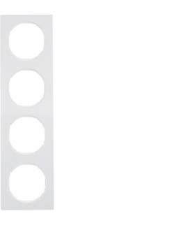 R.3 Ramka 4-krotna, biały, połysk Berker 10142289