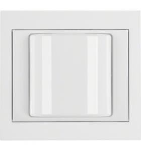 K.1 System przywoławczy Sygnalizator świetlny z ramką, biały połysk Berker 52037009
