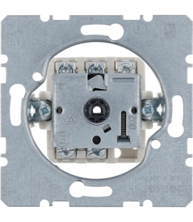one.platform Łącznik obrotowy 3-pozycyjny bez pozycji zerowej 2-1-3, mechanizm, zaciski śrubowe Berker 386101
