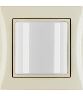 B.Kwadrat/S.1 System przywoławczy Sygnalizator świetlny z ramką, kremowy połysk Berker 52038982