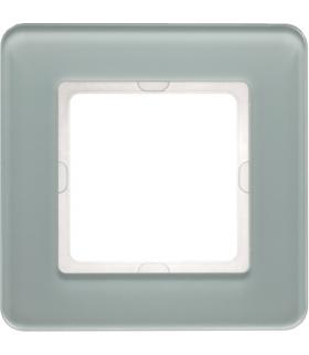 Q.7 Ramka 1-krotna, szkło, biały Berker 10116079