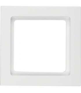 Q.3 Ramka 1-krotna, biały, aksamit Berker 10116099