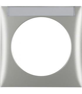 Integro Flow Ramka 1-krotna z polem opisowym, chrom, mat lakierowany Berker 918032568