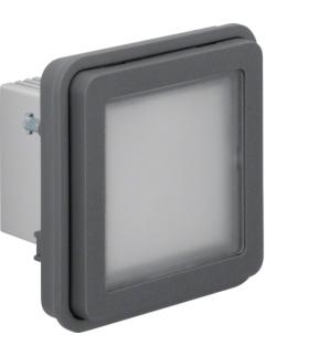 W.1 Moduł sygnalizatora świetlnego LED niebieskie, IP55, szary Berker 51733535