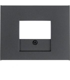 K.1 Płytka czołowa do gniazda głośnikowego i gniazda ładowania USB, antracyt Berker 10357006