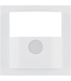B.3/B.7 Płytka czołowa do kompaktowego czujnika ruchu, biały, mat Berker 11901909