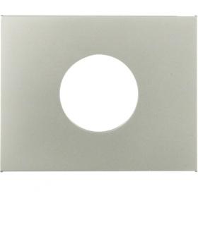 K.5 Płytka czołowa do łącznika i sygnalizatora świetlnego E10, stal szlachetna, lakierowana Berker 11657004