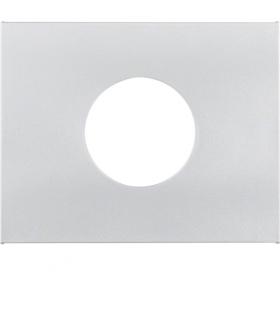 K.5 Płytka czołowa do łącznika i sygnalizatora świetlnego E10, alu Berker 11657003