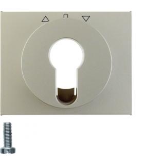 K.5 Płytka czołowa do łącznika żaluzjowego obrotowego na klucz, stal szlachetna nierdzewna Berker 15047104