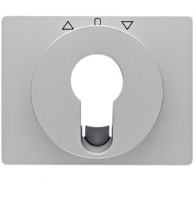 K.5 Płytka czołowa do łącznika żaluzjowego obrotowego na klucz, aluminium Berker 15047103
