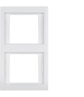 K.1 Ramka 2-krotna, pionowa, biały, połysk Berker 13237009