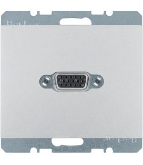 K.5 Gniazdo VGA, zaciski śrubowe, alu Berker 3315417003