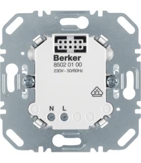 B.x/K.x/Q.x/R.x KNX RF Mechanizm zasilający Berker.Net do nasadek aplikacyjnych Berker 85020100